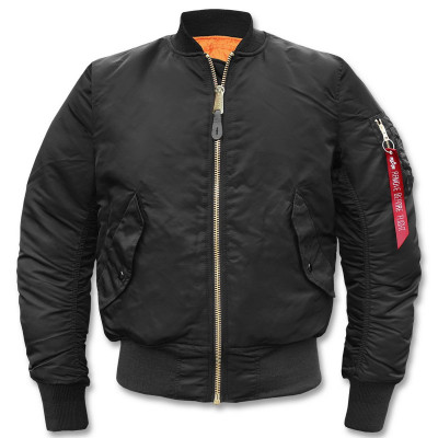 Куртка летная милитари 2-х сторонняя Alpha Industries MA-1