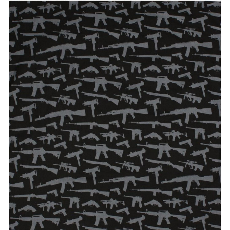 Бандана Rothco Gun Pattern Black