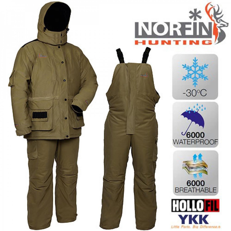 Костюм зимний Norfin Hunting WILD GREEN 72900