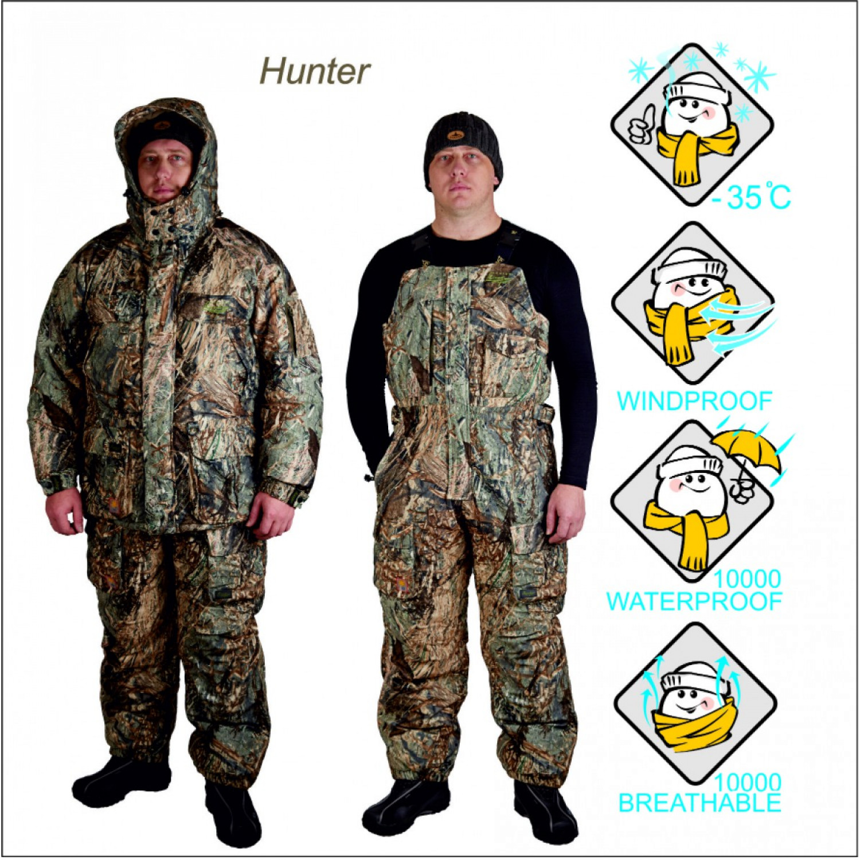 Костюм для охоты зимний Canadian Camper HUNTER digital Camouflage 030900012