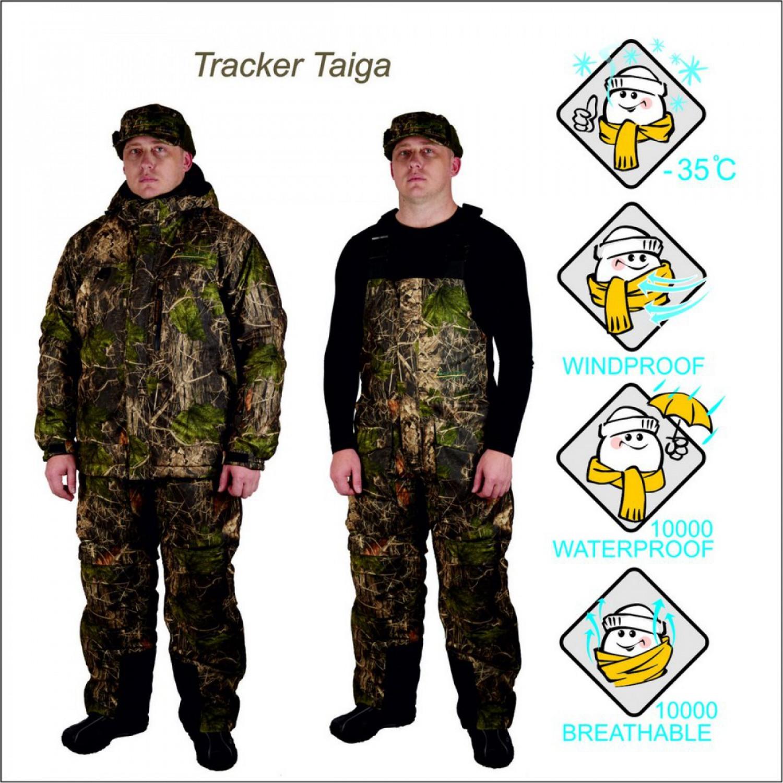 Костюм для охоты зимний CANADIAN CAMPER TRACKER taiga 030900016