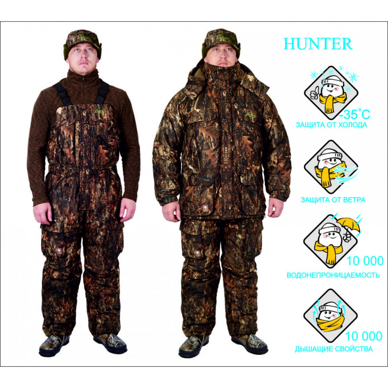 Костюм для охоты зимний Canadian Camper HUNTER old grass 030900012