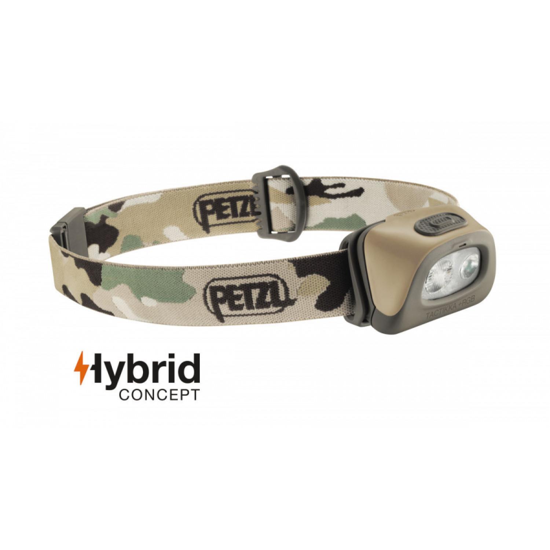 Налобный фонарь Petzl TACTIKKA® + RGB 250 lumens