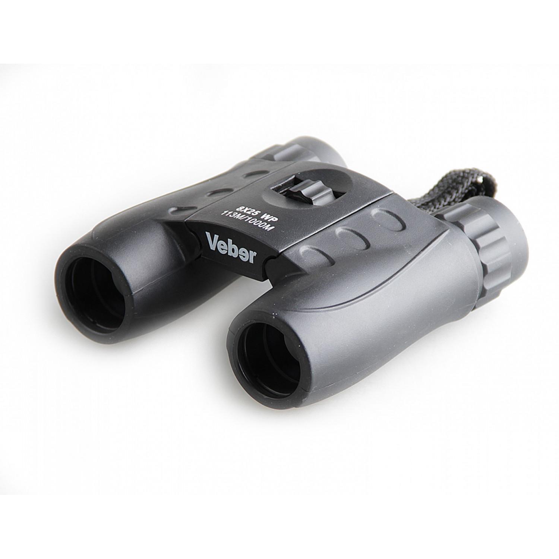 Бинокль Veber 8x25 WP черный