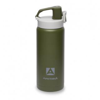 Термос (сититерм-вакуумный) Арктика (0,5 литра), зеленый