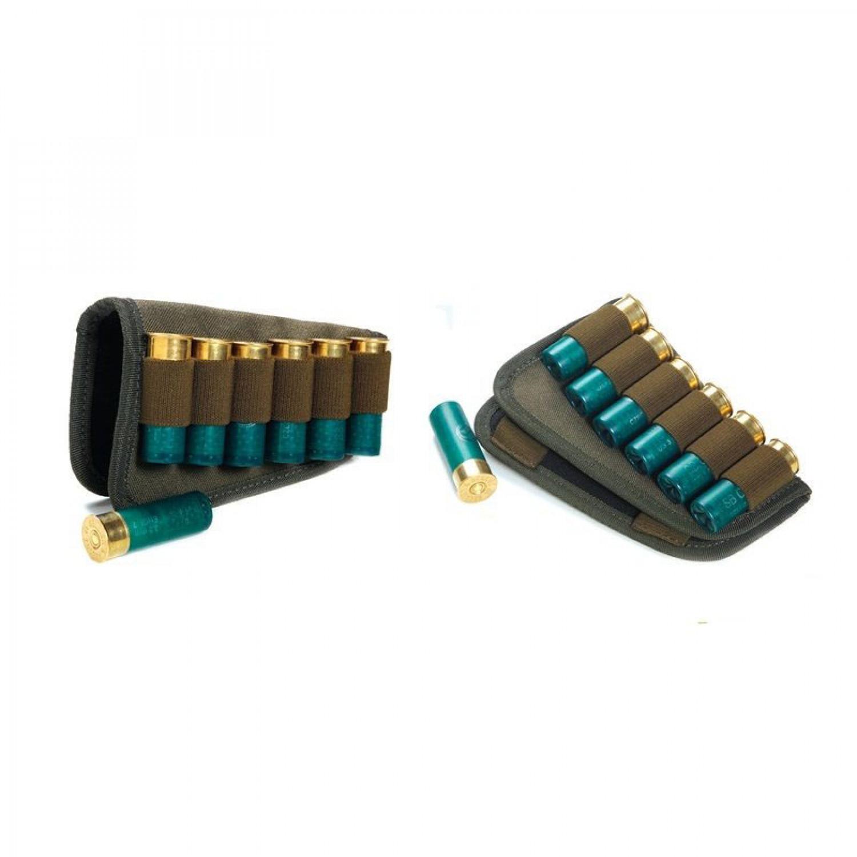 Патронташ на приклад для патронов 12 калибр из синтетической ткани Vektor П-61