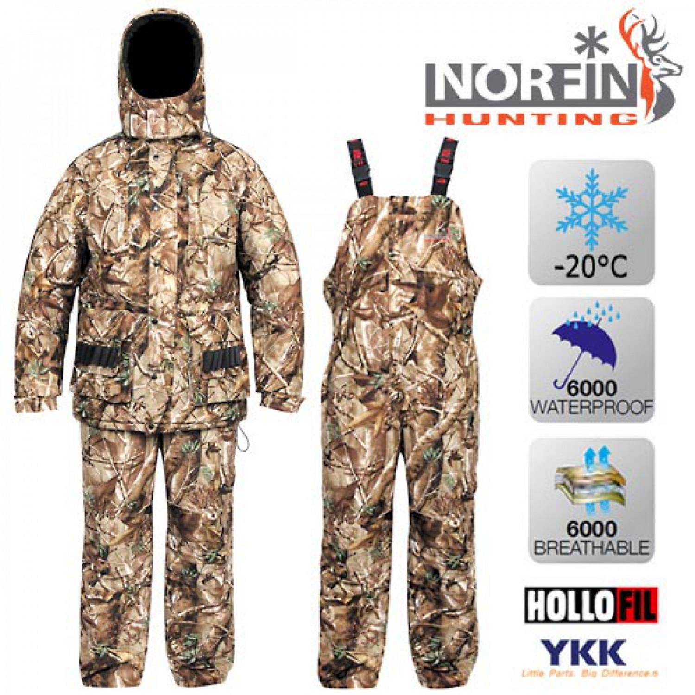 Костюм зимний Norfin Hunting TRAPPER PASSIONS