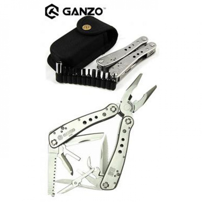 Мультитул Ganzo G201H, 105 мм, 25 функций, нейлоновый чехол
