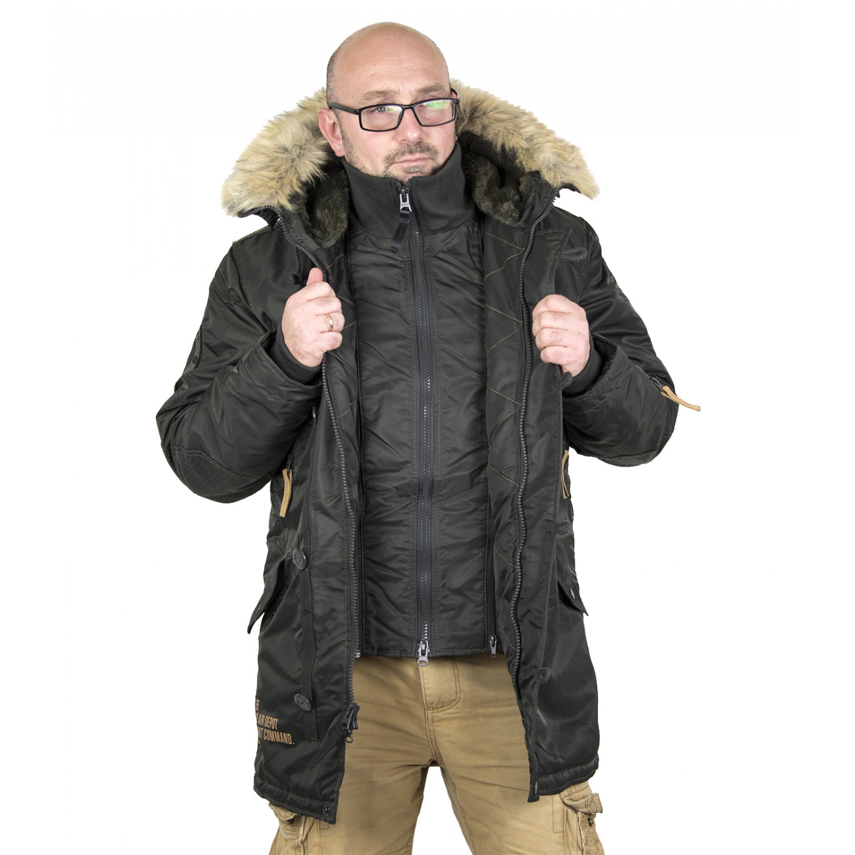 Куртка аляска мужская Apolloget Arctic