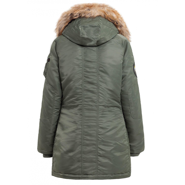 Куртка аляска женская Apolloget N-3B Husky Wmn