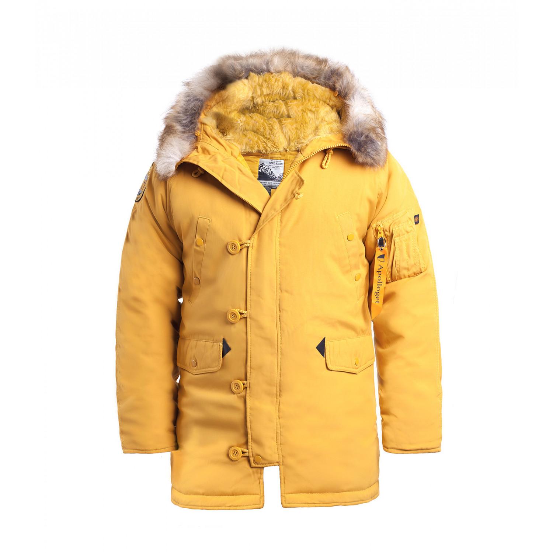 Куртка аляска мужская Apolloget Oxford