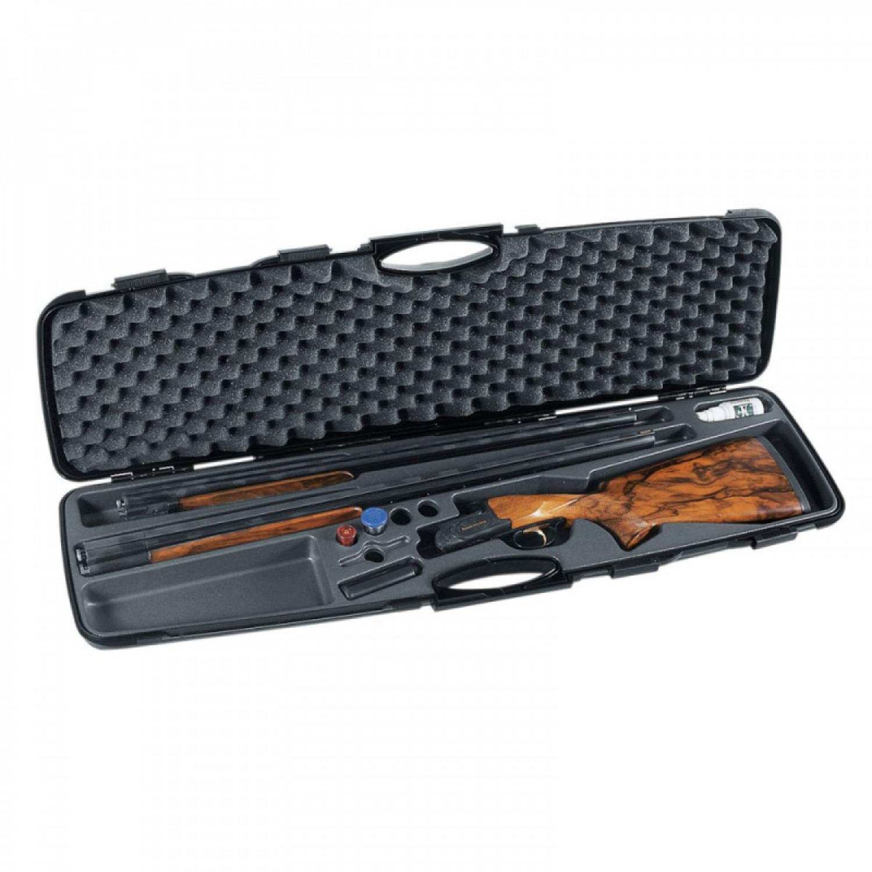 Кейс Negrini для гладкоствольного оружия с 2-мя стволами, с отделениями, стволы длинной до 940 мм, внутренний размер 95,5х24х8 см. арт. 1607TS-2C