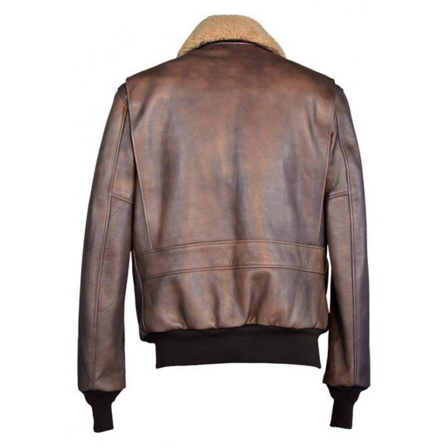 Куртка кожаная Schott Cowhide Bomber Jacket BROWN 594