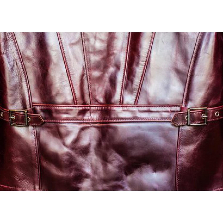 Куртка кожаная SCHOTT Mens Horween Steerhide Motorcycle Jacket P653 Burgundy