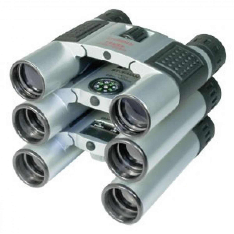 Бинокль Sturman 10x25 серебристый