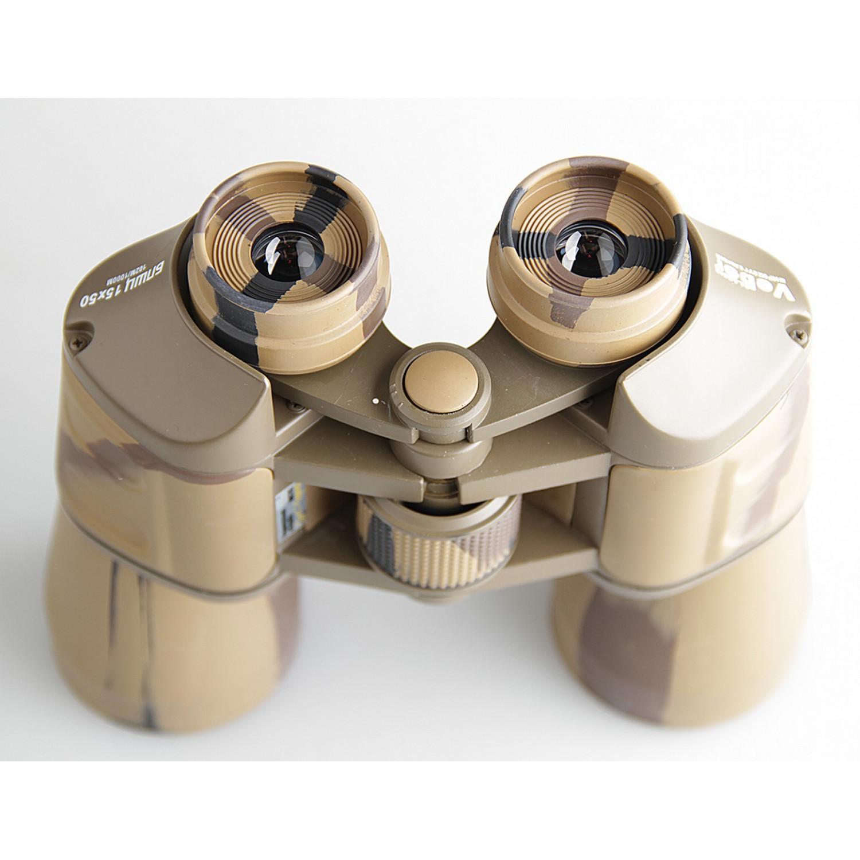 Бинокль Veber Classic БПШЦ 15x50 VRWA камуфляж