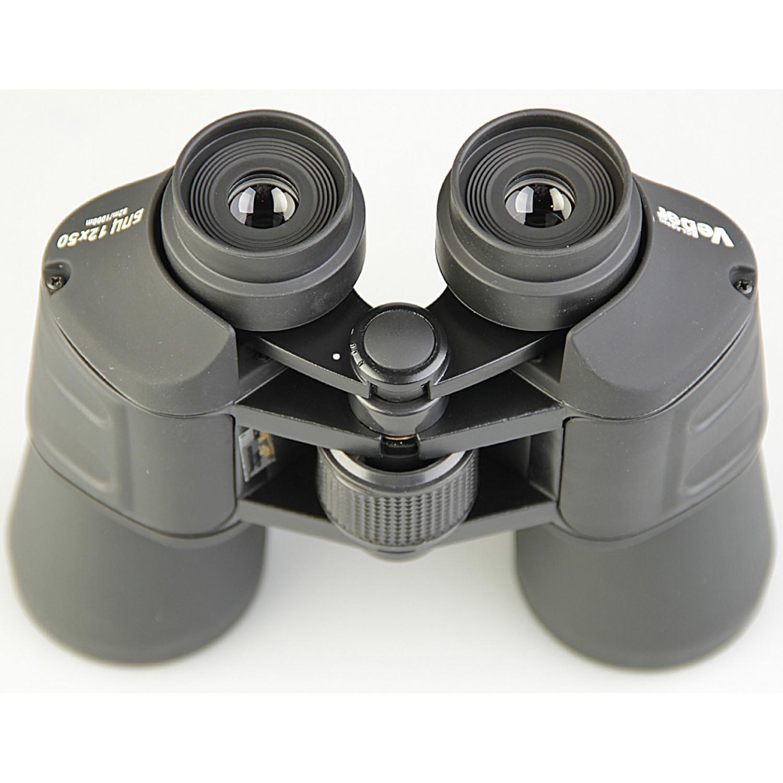 Бинокль Veber Classic БПЦ 12x50 VR черный