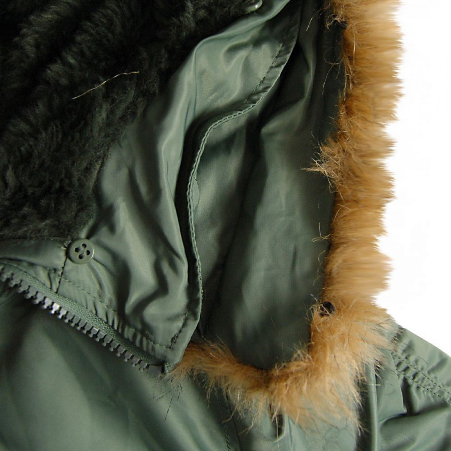 Куртка зимняя аляска Alpha Industries N-3B Parka Sage Green