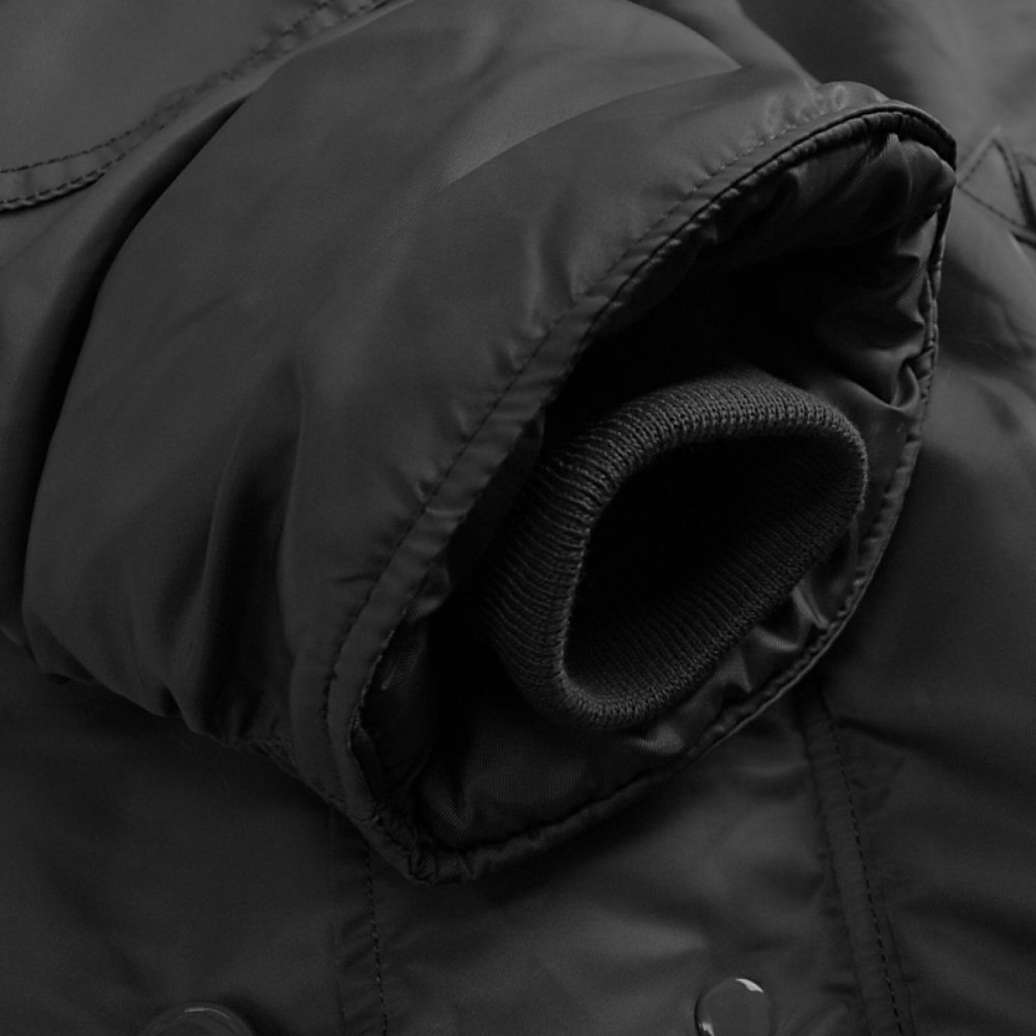 Куртка зимняя аляска Alpha Industries N-3B Parka Black