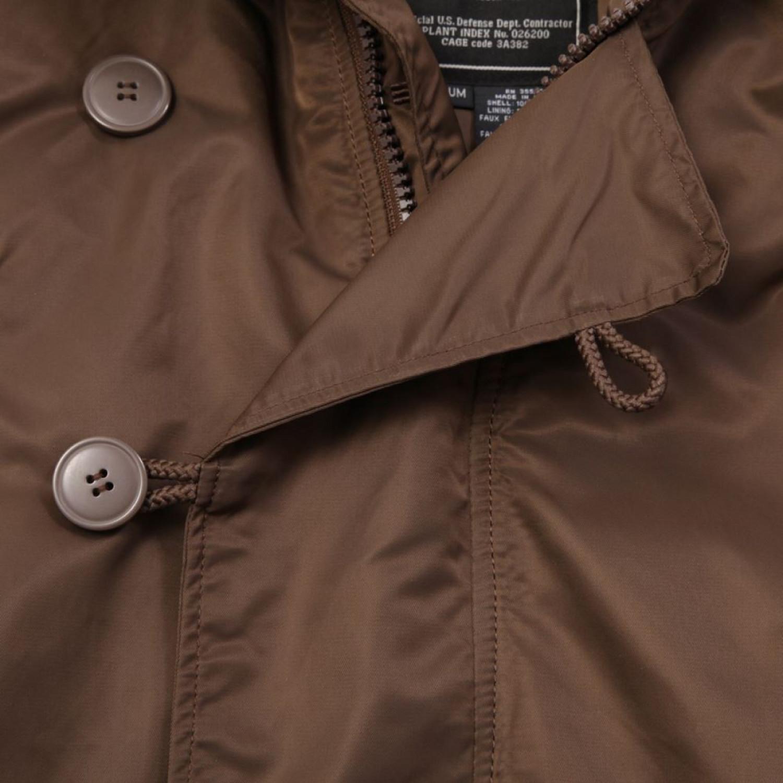 Куртка зимняя аляска Alpha Industries N-3B Parka Chocolate