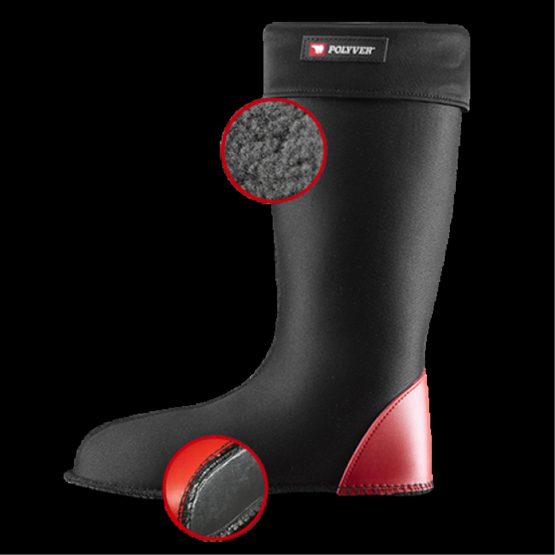 Вкладыш-чулок утепленный для сапог Polyver RS Removable Sock