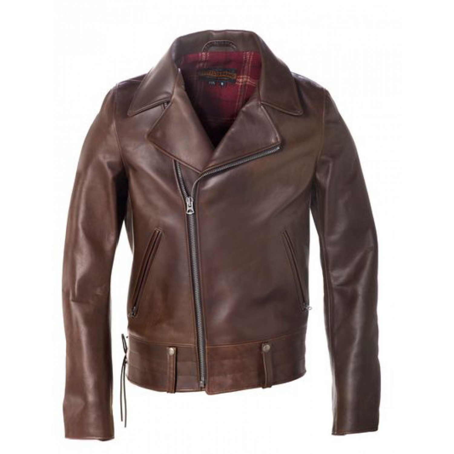 Куртка кожаная SCHOTT косуха Perfecto California Highway Patrol Jacket P6521 BRN