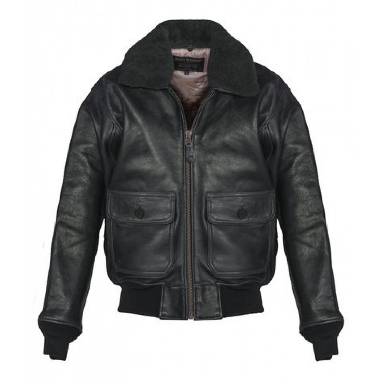Куртка кожаная SCHOTT G1 TOP GUN G1S BLK